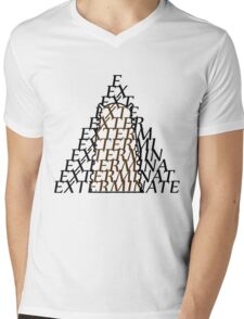 Doctor Who Dalek — EXTERMINATE Mens V-Neck T-Shirt