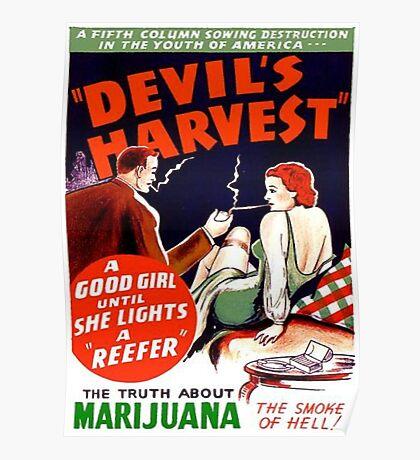 Devil's Harvest Poster