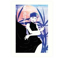SOUL Beauty: Underground Garden - Queen of Diamonds Art Print