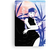 SOUL Beauty: Underground Garden - Queen of Diamonds Canvas Print