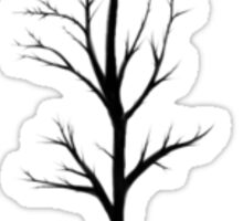 The Direction Tree - Snow Green Sticker