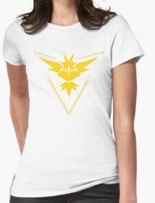 Team Instinct Pokemon Go  Womens Fitted T-Shirt