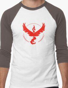 Team Valor Pokemon Go  Men's Baseball ¾ T-Shirt