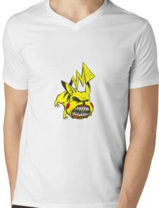Sickachu Mens V-Neck T-Shirt