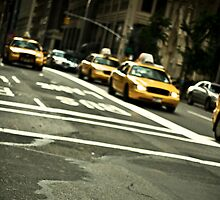 Hailing a Cab by ScaredylionFoto