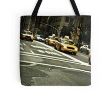 Hailing a Cab Tote Bag