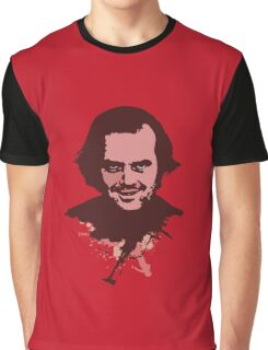 Jack Torrance art Graphic T-Shirt