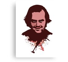 Jack Torrance art Canvas Print