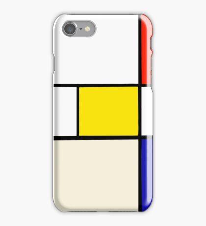 A Piet Mondrian Study iPhone Case/Skin