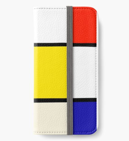 A Piet Mondrian Study iPhone Wallet/Case/Skin