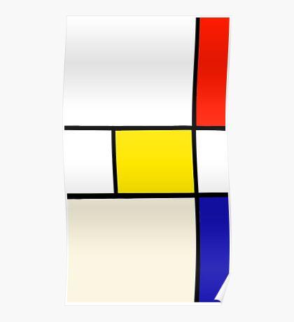 A Piet Mondrian Study Poster