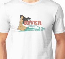 River Country. Just around the river bend ...  Unisex T-Shirt