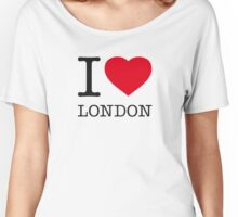 I ♥ LONDON Women's Relaxed Fit T-Shirt