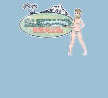 A colder kinda beach. Unisex T-Shirt