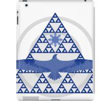 Eagle Rising - Purple and White iPad Case/Skin