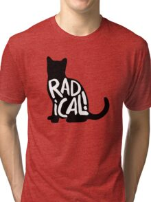 Radical Cat Tri-blend T-Shirt