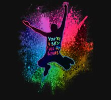 A Head Full of Dreams Rainbow Splatter Unisex T-Shirt