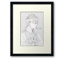 Sasaki (Kaneki ken) Framed Print