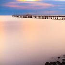 The Pier Dreaming by Silken Photography