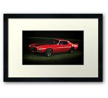 Chevy Camaro Framed Print