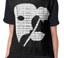 Phantom Music Sheet Chiffon Top