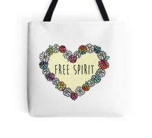 Free Spirit Daisies Tote Bag