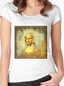Mona Lisa Smile Women's Fitted Scoop T-Shirt
