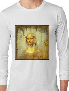 Mona Lisa Smile Long Sleeve T-Shirt