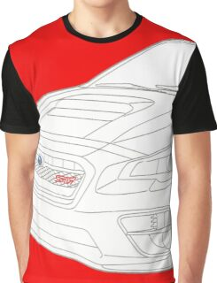 WRX STI Cut Out Front Graphic T-Shirt