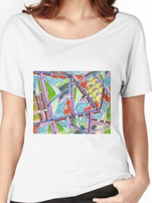 coast view 04 (2014) Women's Relaxed Fit T-Shirt