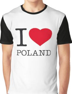 I ♥ POLAND Graphic T-Shirt