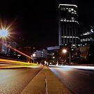 Light Trails Perth by mattsibum