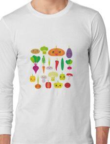 Healthy Veggie Long Sleeve T-Shirt
