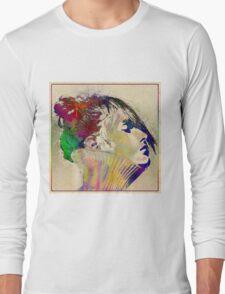 Colorful portrait Long Sleeve T-Shirt
