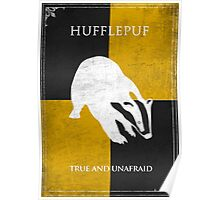Hufflepuff Game of Thrones Style Poster Poster