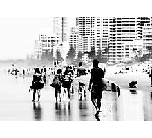 City at the beach Photographic Print