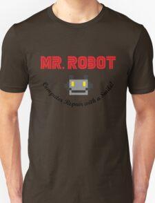 Mr Robot Computer Repair Smile Unisex T-Shirt