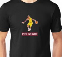 Kyrie Irving Aka Kyrie Swerving Unisex T-Shirt