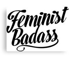 Feminist Badass Canvas Print
