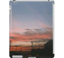 Gnash – I Hate You, I Love You iPad Case/Skin