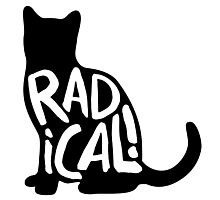 Radical Cat Photographic Print
