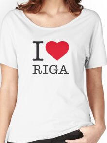 I ♥ RIGA Women's Relaxed Fit T-Shirt