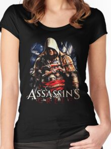 Assassins Creed Women's Fitted Scoop T-Shirt