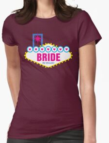 Bride in Vegas Womens Fitted T-Shirt