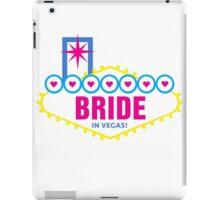 Bride in Vegas iPad Case/Skin