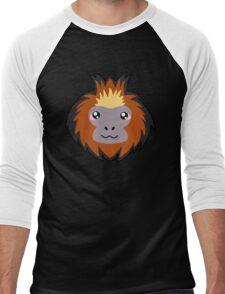 Golden lion tamarin monkey Men's Baseball ¾ T-Shirt
