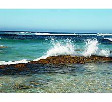 Making A Splash - Margaret River Photographic Print