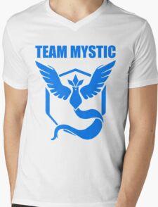 Pokemon Go - Team Mystic Mens V-Neck T-Shirt
