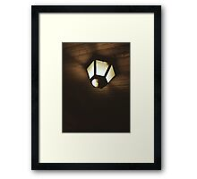 9:46, walking alone on the 4th of July Framed Print