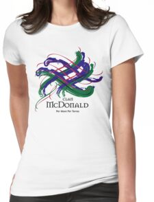 Clan McDonald Womens Fitted T-Shirt